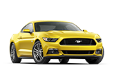 2017 Yellow Ford Mustang