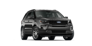 Stock Image of 2018 Ford Explorer