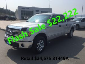 Flash Sale Image of a Sliver 2014 Ford Truck
