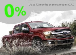 Red Ford F-150 Advertisement