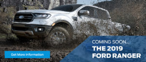 2019 Ford Ranger Coming Soon Banner