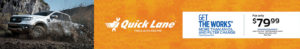 Quicklane Get the Works Discount Banner