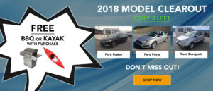 2018 vehicle model clearout