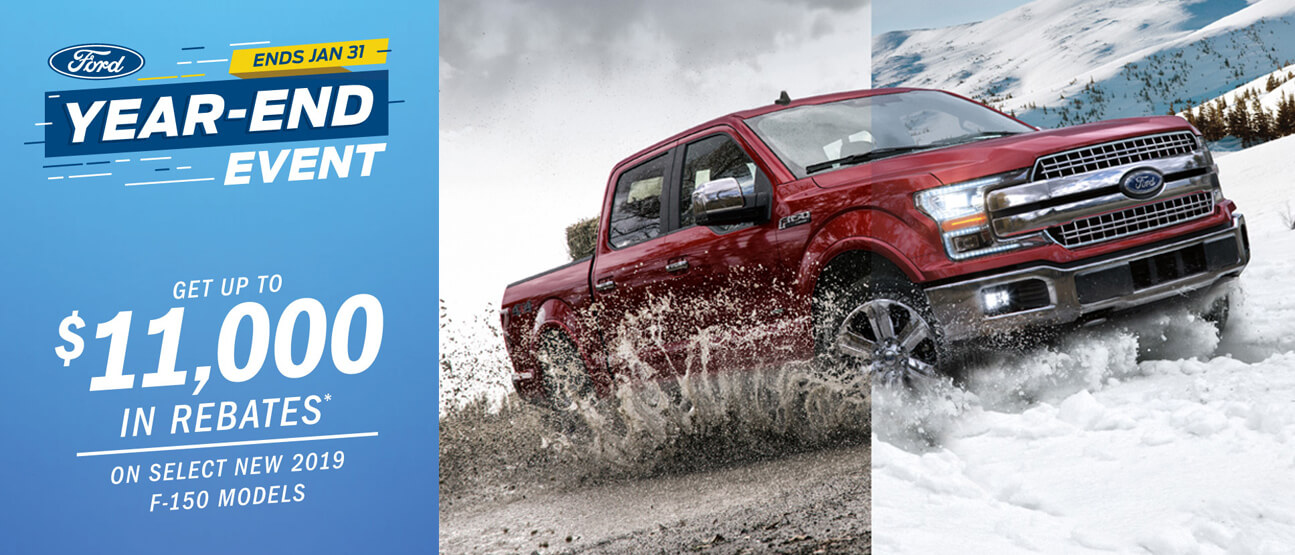 January Ford incentive