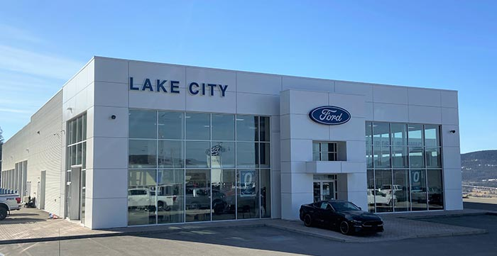 Lake City Ford Dealership Landscape Photo