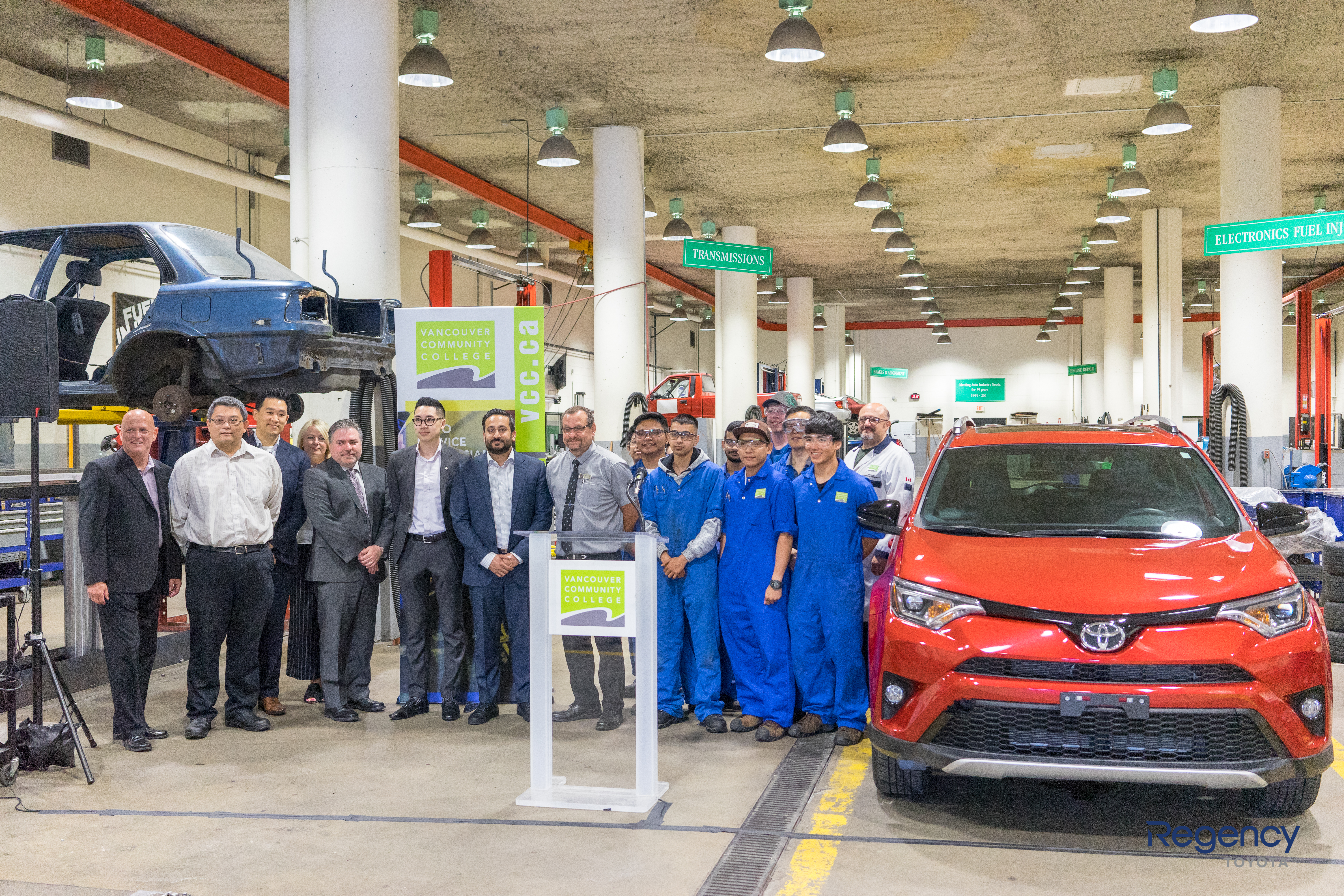 Regency Auto and Toyota Canada deliver RAV4 to Vancouver