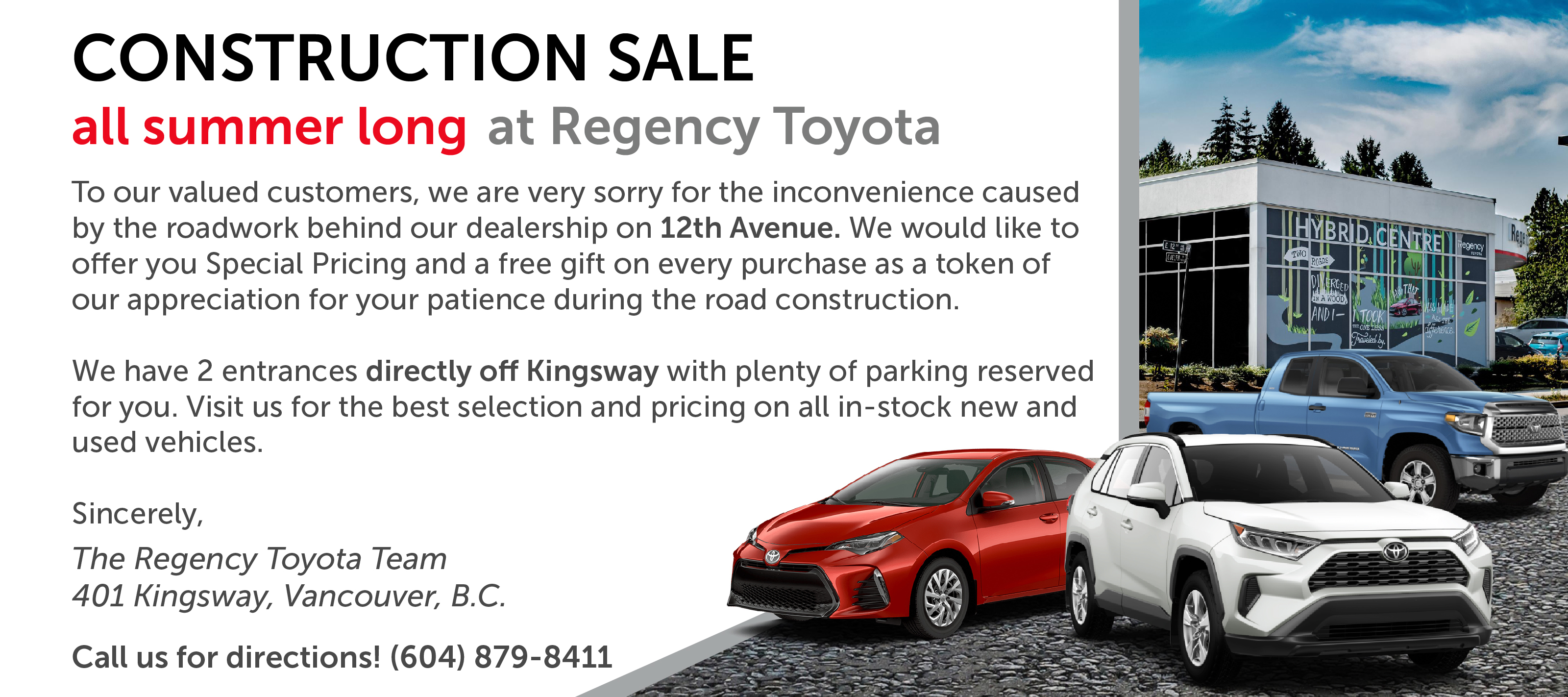 Regency Toyota | New & Used Toyota Dealer in Vancouver, BC