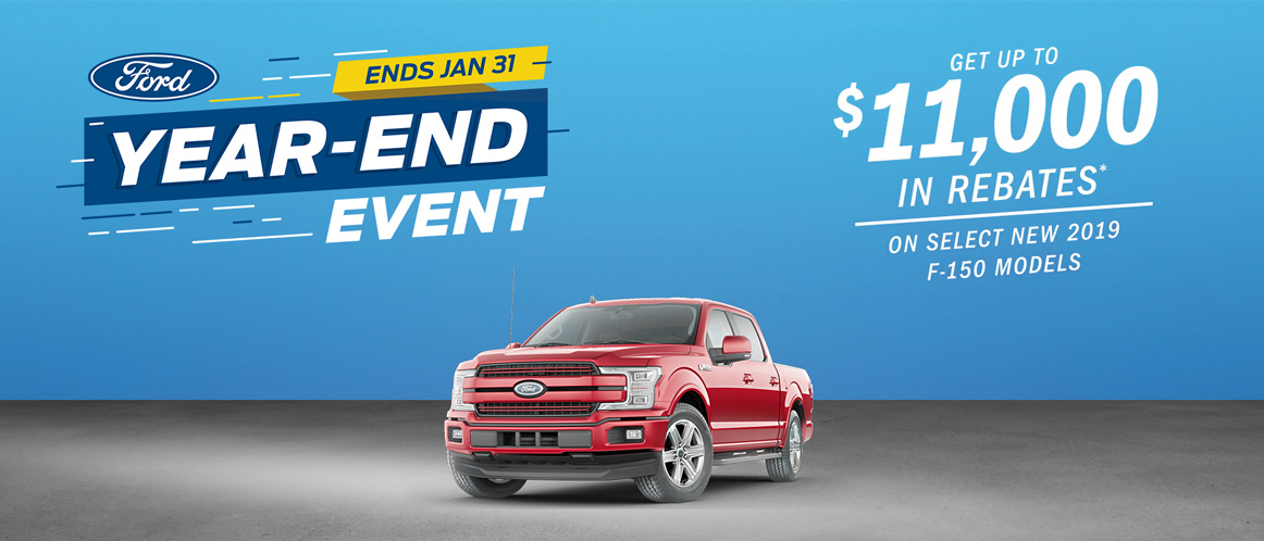 January Ford offer