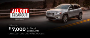 September Jeep offer