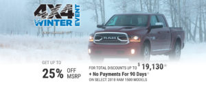 January RAM offer