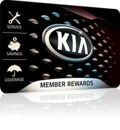 Kia Member Rewards Card