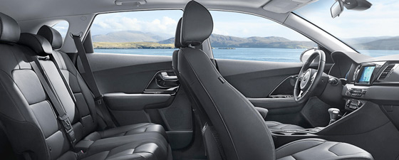 Kia vehicle interior