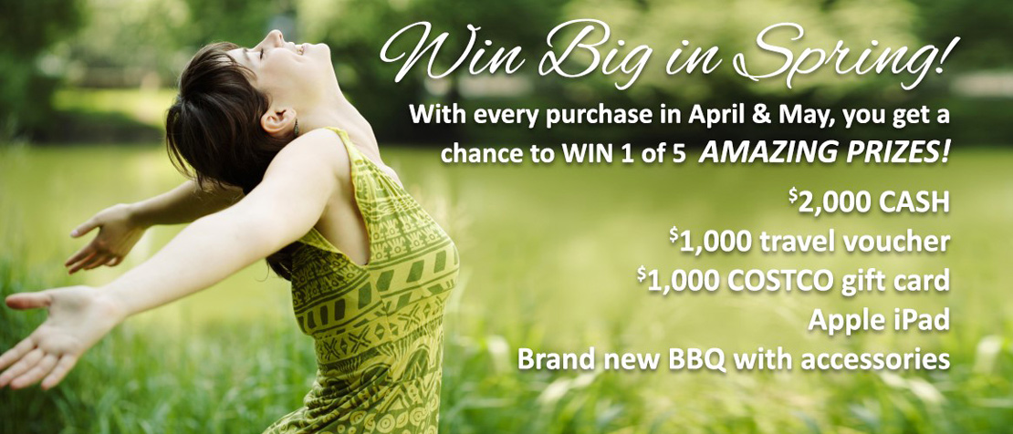 Win Big in Spring