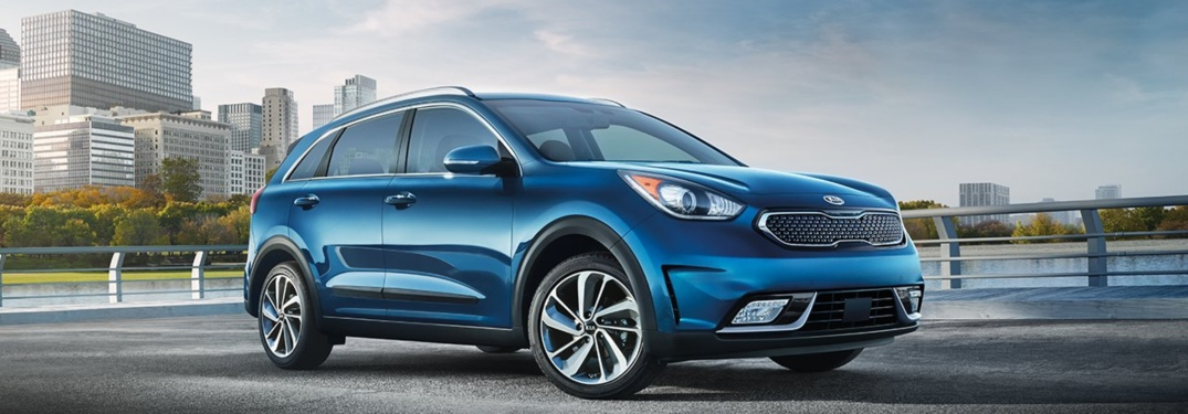 2019 Kia Niro Blue Side View O