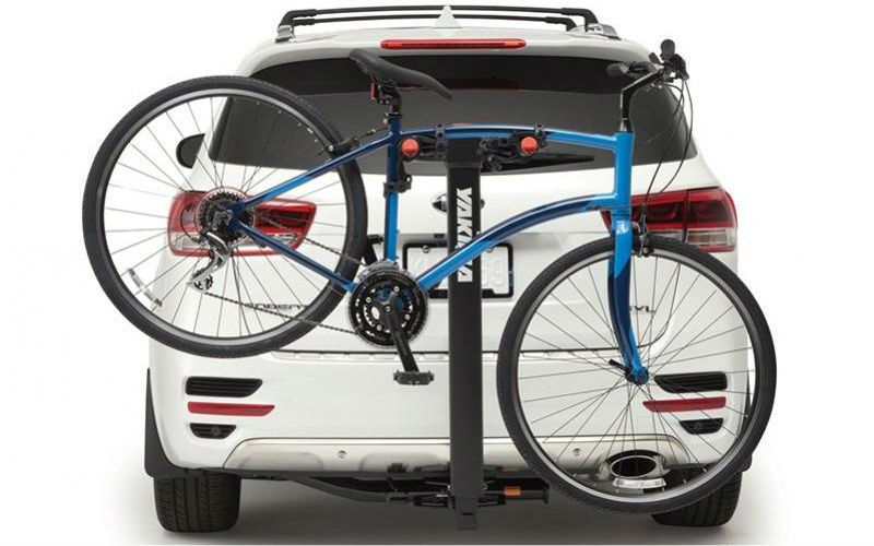 Kia Accessories Trailer Hitch Mounted 4 Bike Carrier