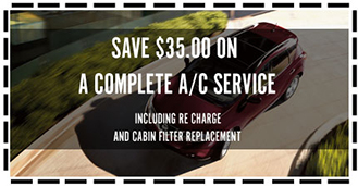 SAVE $35 ON A COMPLETE A/C SERVICE