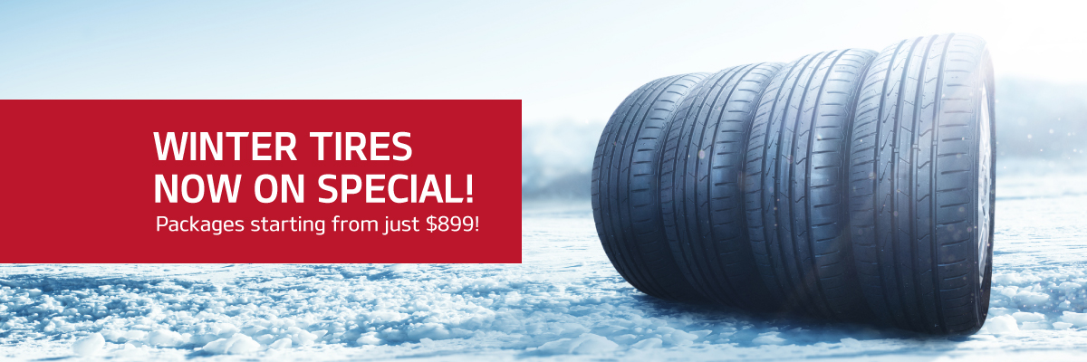 Winter Tires On Special