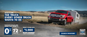 March Ford incentive
