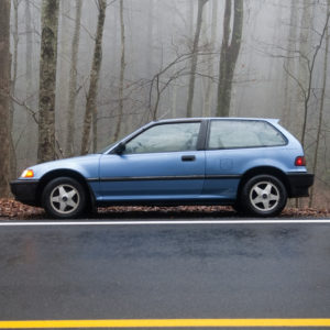 blue-old-civic