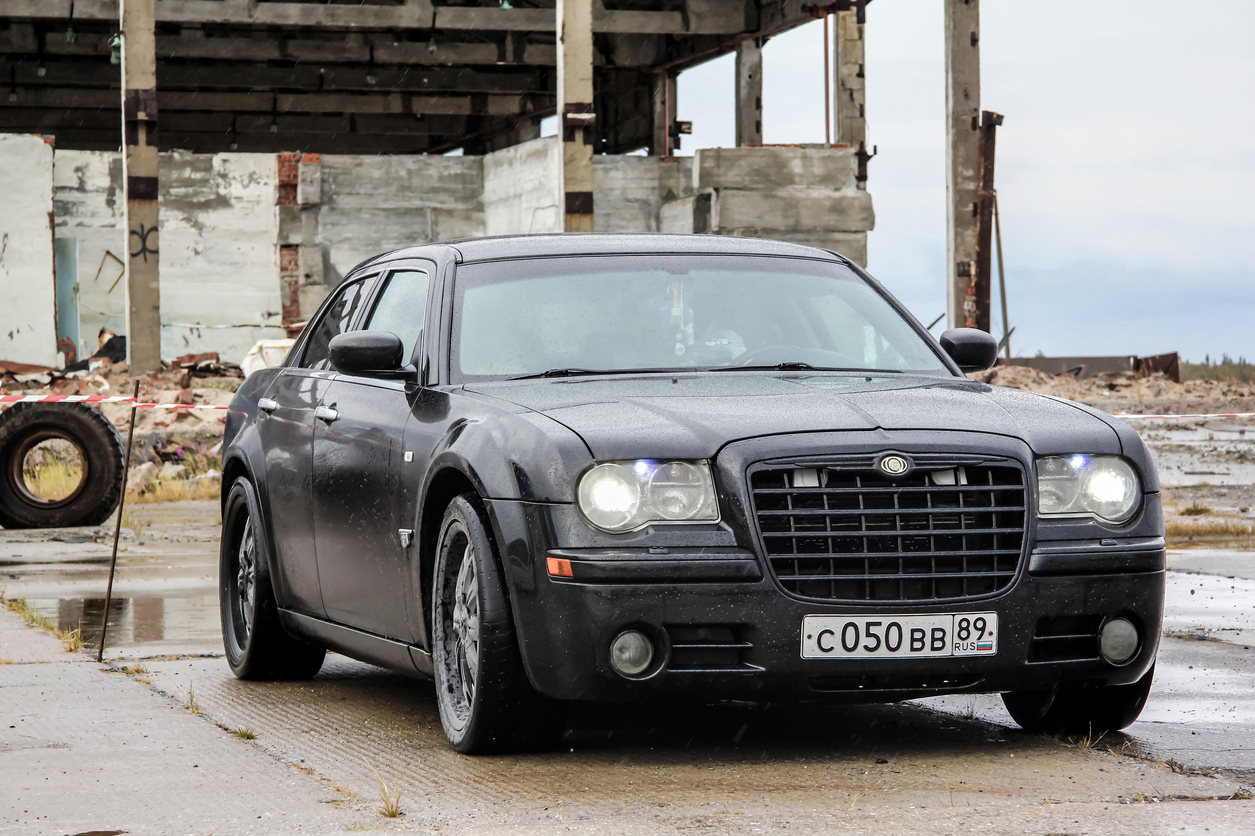 Chrysler 300C parked