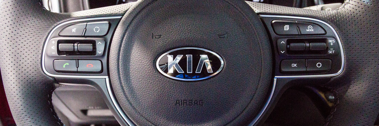2016 Kia Sportage steering wheel