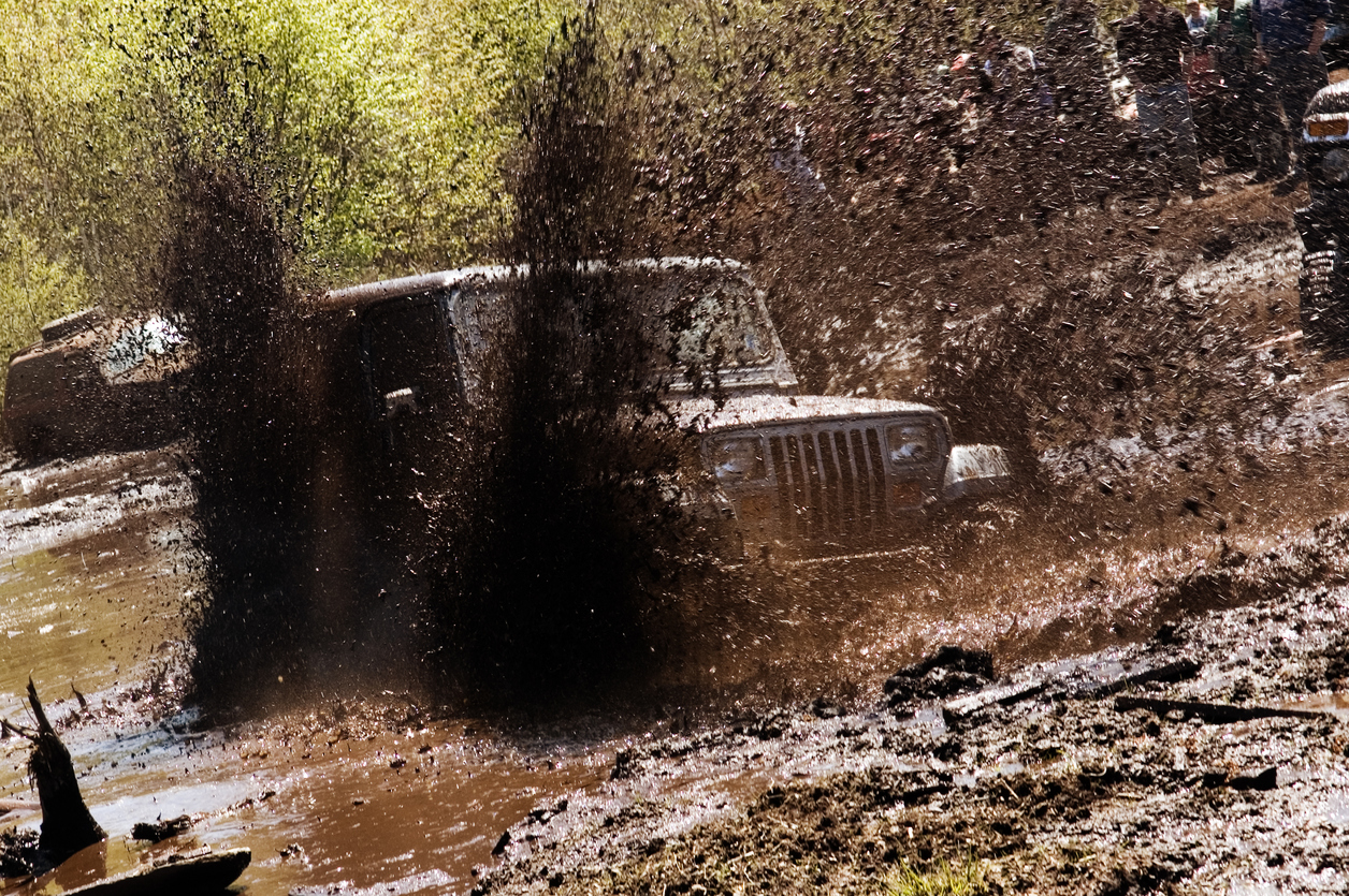 Jeep Mud Bogging