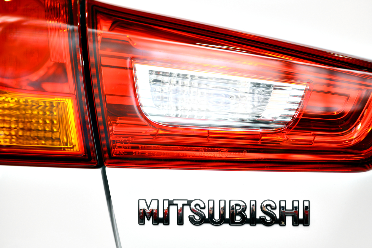 Mitsubishi stop lights
