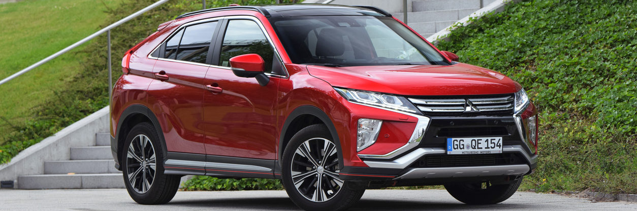 Mitsubishi Eclipse Cross on the street