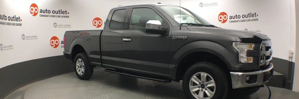 Ford F150 in showroom