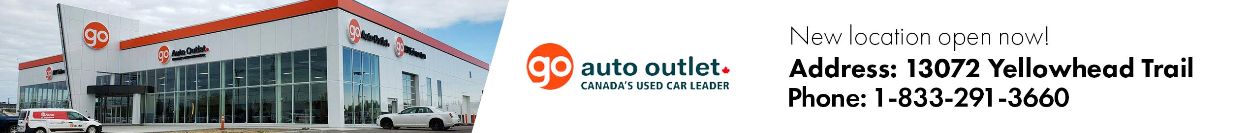 Go Auto Outlet Yellowhead New Location