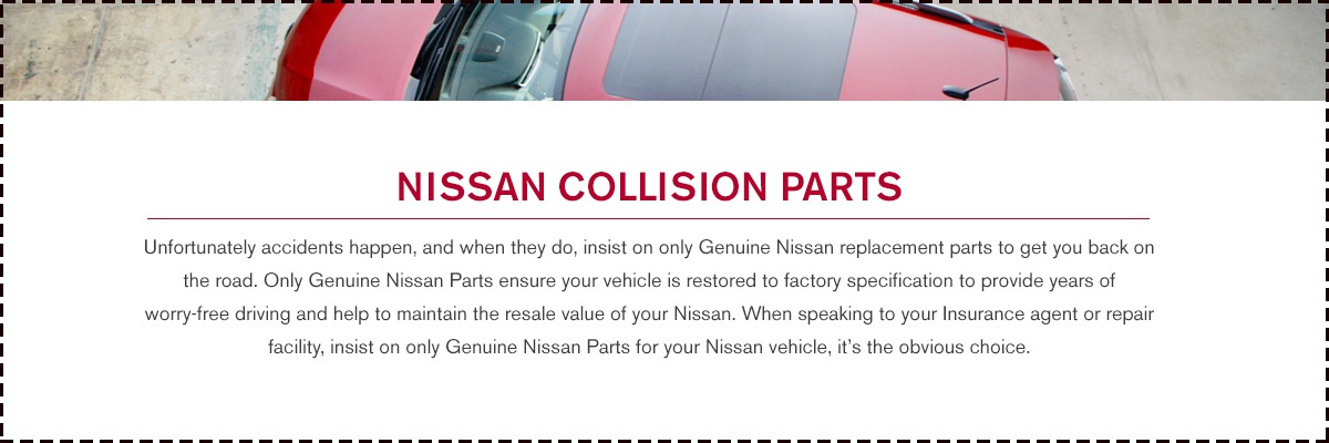 Nissan Collision Parts