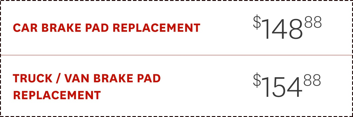 Brake Pad Replacement Offer
