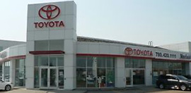 Mayfield Toyota dealership