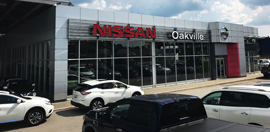 Oakville Nissan dealership