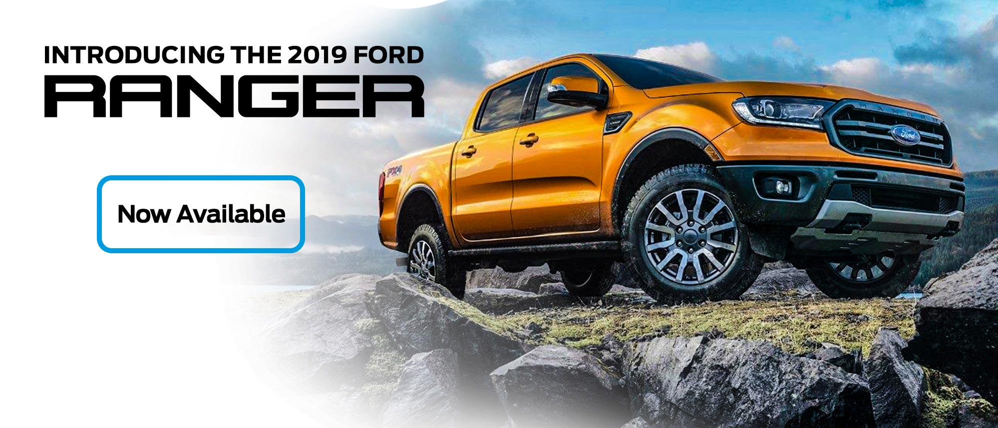 2019 Ford Ranger   Now Available