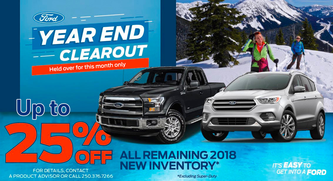 Ford Year End Clearout