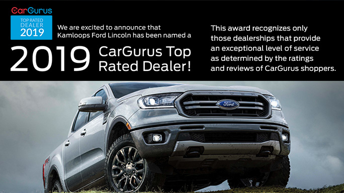 Car Gurus Dealer >> Cargurus Top Rated Dealer Mobile Kamloops Ford