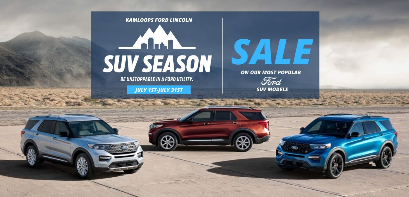 Suv Season Sale