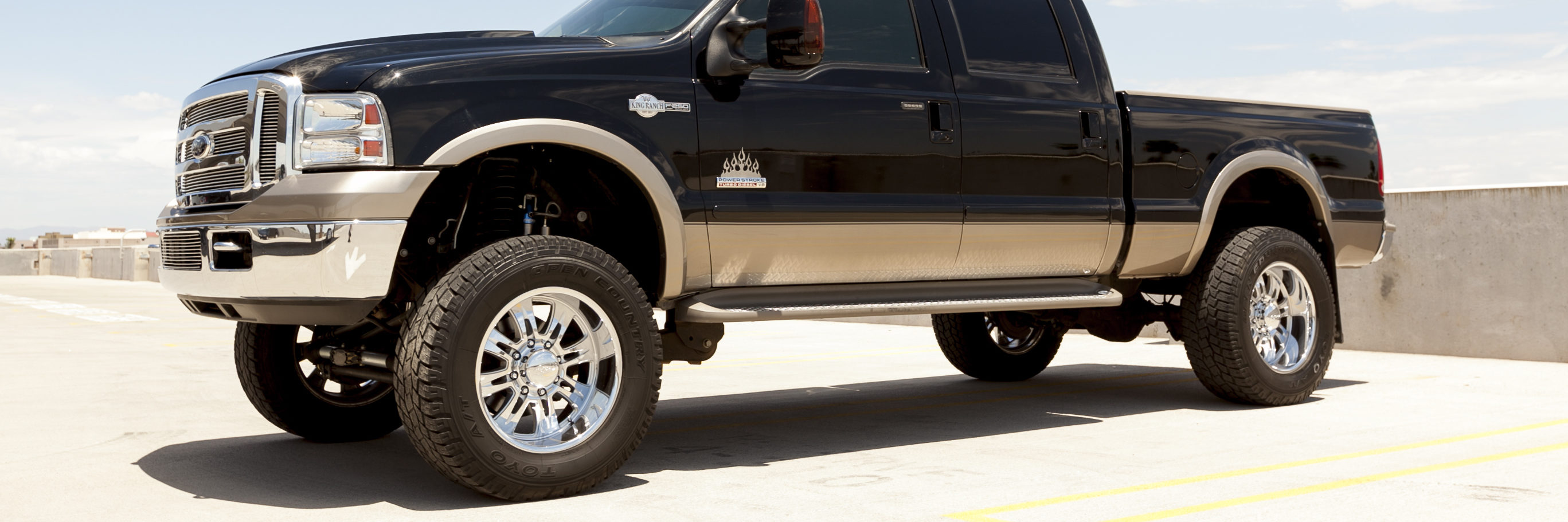 ford king ranch tires