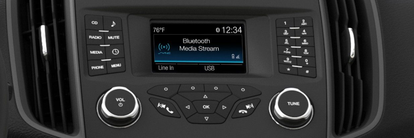 ford sync console