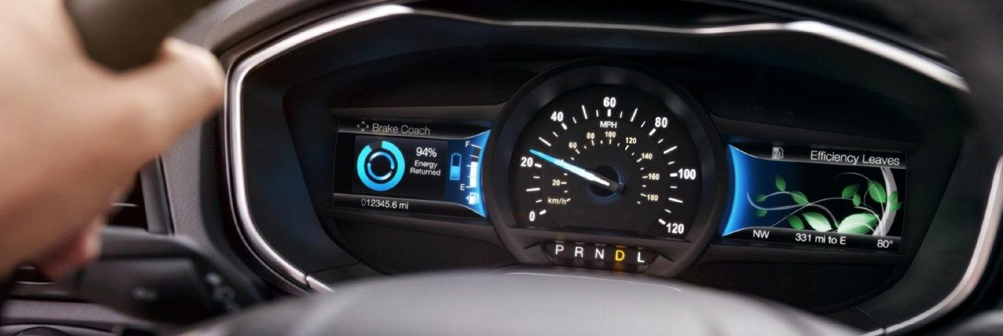 driving gauge of ford vehicle