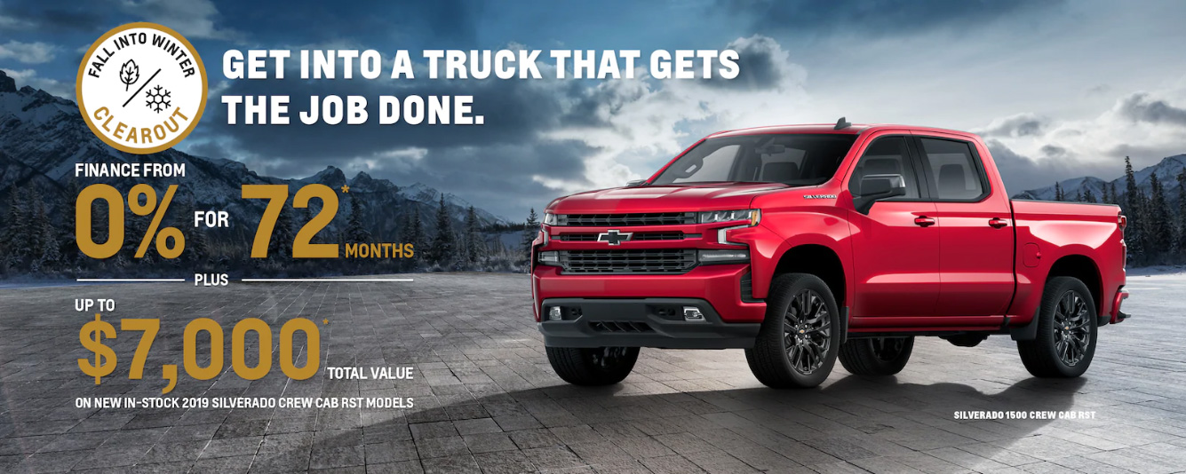 Chevrolet incentive offer
