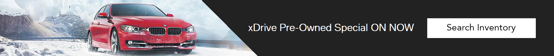 xDrive Pre-Owned Specials Slide
