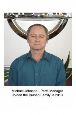 Mike Johnson - Parts Manager