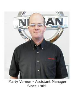 Marty Vernon - Assistant Manager