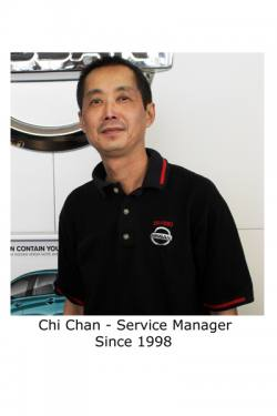 Chi Chan - Service Manager