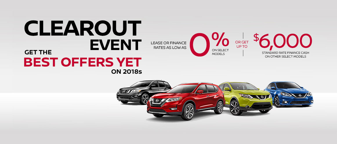 September Nissan offer