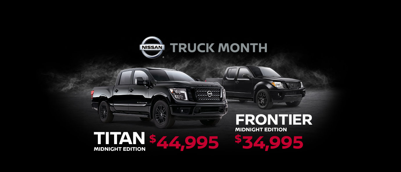 Nissan Truck Month October 2018 Incentive