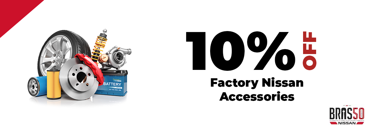10% Off Factory Nissan Accessories