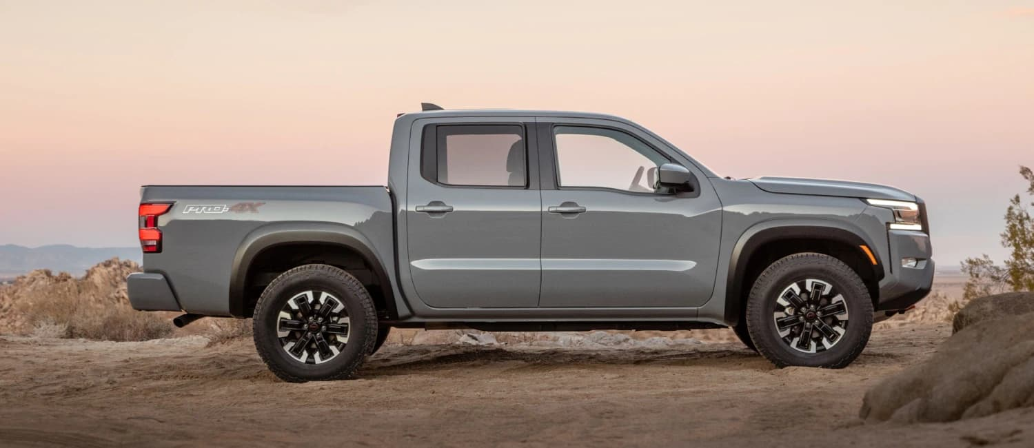 Side Profile Shot of the 2022 Nissan Frontier
